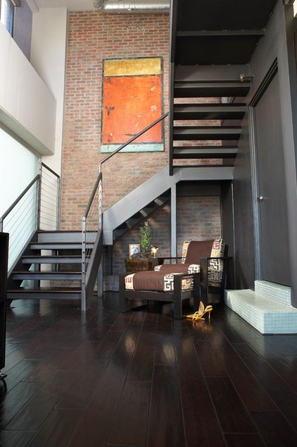 Industrial Staircase by Studio D - Danielle Wallinger