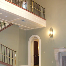 Traditional Staircase by Bockman + Forbes Design