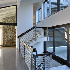 Contemporary Staircase by Elevation Architectural Studios