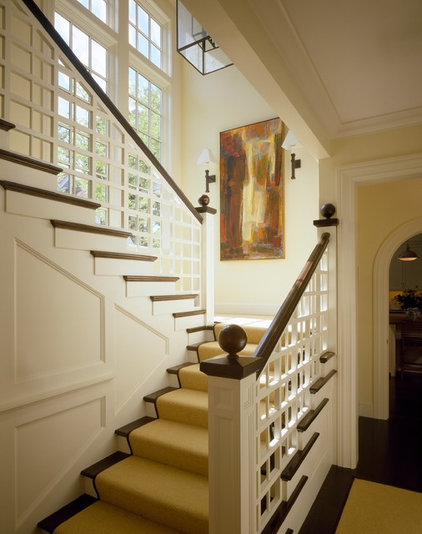 Traditional Staircase by Su Casa Designs