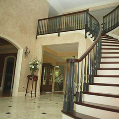 traditional staircase by O'Sullivan Architects, Inc