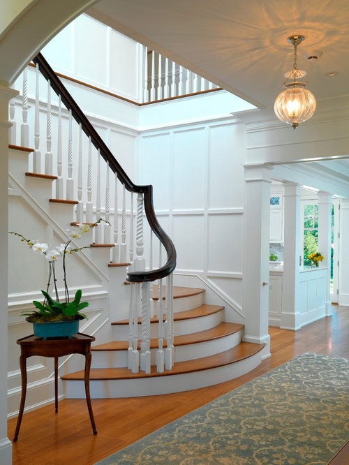 Traditional Staircase Idea In Boston