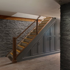 Traditional Staircase by Pinney Designs