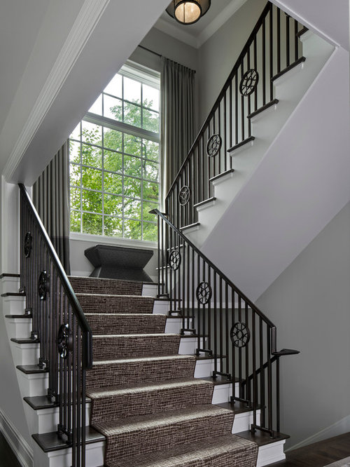 Front Elevation Of Spiral Staircase : Front elevation staircase design ideas remodels photos
