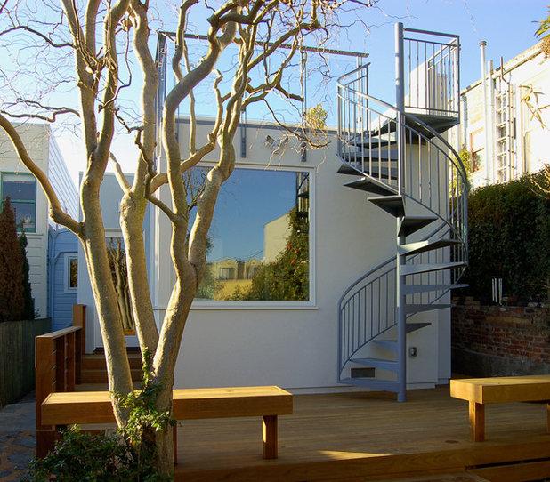 Модернизм Лестница by Hopkins Studio, architecture + design