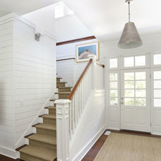 Beach Style Staircase by Diament Builders