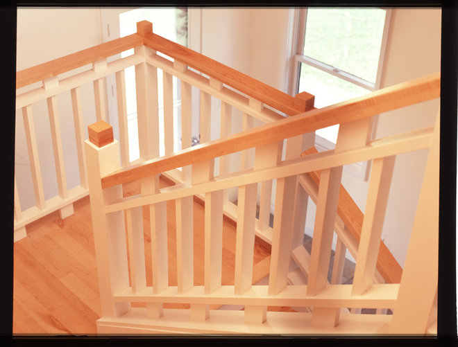Traditional Staircase by Donna Schumacher Architecture
