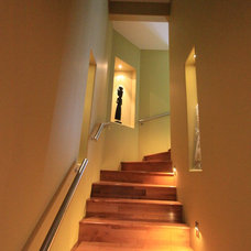 Contemporary Staircase by Design & Decor By Shelley