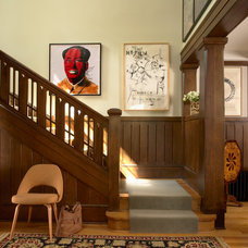 Craftsman Staircase by David Heide Design Studio