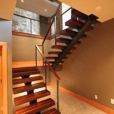 Modern Staircase by MODERNFAB