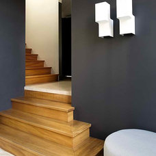 Contemporary Staircase by Designed by Karen Akers