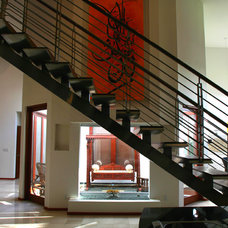 Modern Staircase by M. Designs Architects