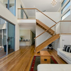 Contemporary Staircase by Soul Space