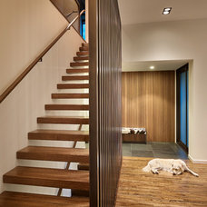 Contemporary Staircase by Lane Williams Architects