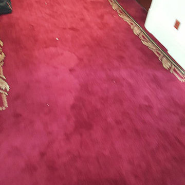Supply & Install Patterned Red Carpet to Stairs