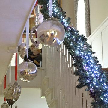 Surrey Home at Christmas