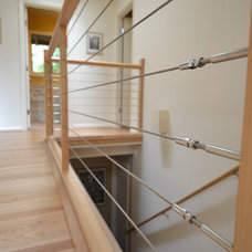 Modern Staircase by Angela Todd Designs