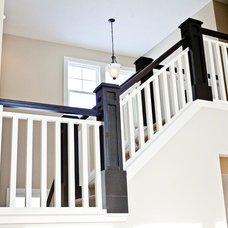 Traditional Staircase by Jim Tibbe Homes
