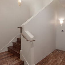 Modern Staircase by Allen Construction