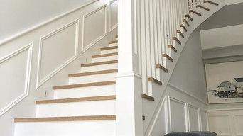 Sydney Staircase - bespoke designer stairs