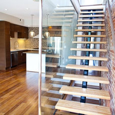 Contemporary Staircase by Renaissance Design