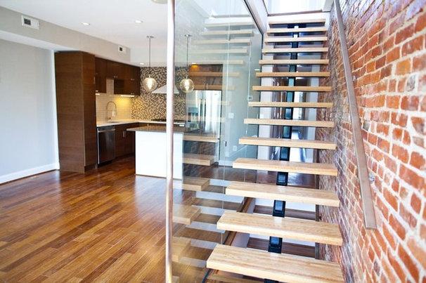 Contemporary Staircase by Renaissance Design