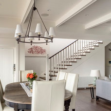 Beach Style Staircase by Walter Barda Design