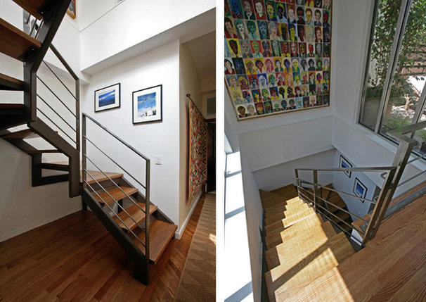 Contemporary Staircase by Lynn Gaffney Architect, PLLC
