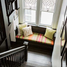 Contemporary Staircase by Annie Hall Interiors