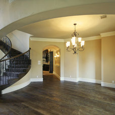 Traditional Staircase by Sylvie Meehan Designs