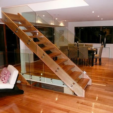 Modern Staircase by Hine Developments Ltd