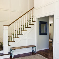 Traditional Staircase by Tiek Built Homes