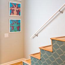 stair carpet v boards