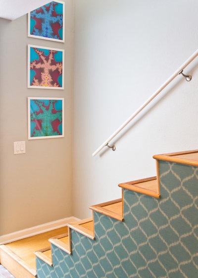 Modern Staircase by Erika Bierman Photography