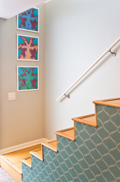 Modern Staircase by Erika Bierman Photography
