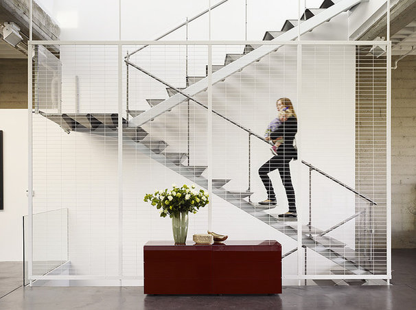 Industrial Staircase by Fougeron Architecture FAIA
