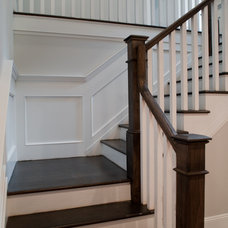 Traditional Staircase by Elayan Construction Services