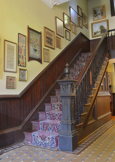 Victorian Staircase by Sarah Greenman