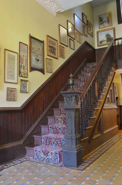 traditional staircase by Sarah Greenman