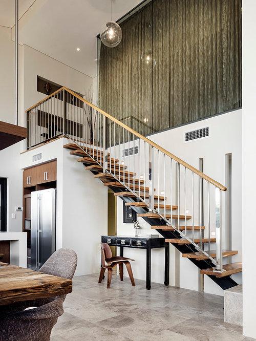 Scandinavian perth staircase design ideas remodels photos - Scandinavian furniture perth ...