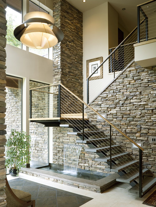 Staircase Design Ideas arched staircase solid wood staircase design ideas curved railings house on the cliff Saveemail