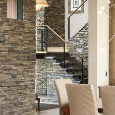 Staircase by Alan Mascord Design Associates Inc