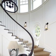 Beach Style Staircase by The Anderson Studio of Architecture & Design