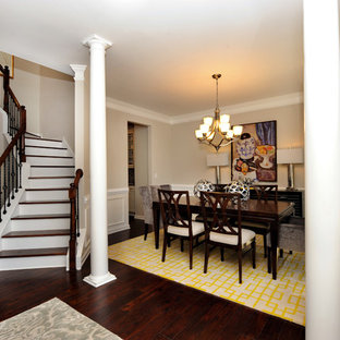 Inspiration for a timeless staircase remodel in Raleigh