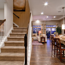 Traditional Staircase by Oakwood Homes
