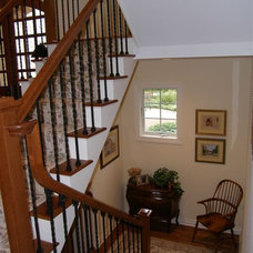 Traditional Staircase by Architectural Homes by Anders Inc