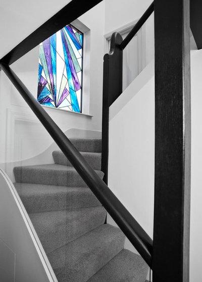 Contemporary Staircase by Boscolo Internal Design