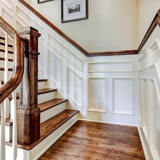 Traditional Staircase by Stonecroft Homes