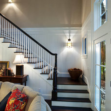 Traditional Staircase by Mitch Wise Design,Inc.