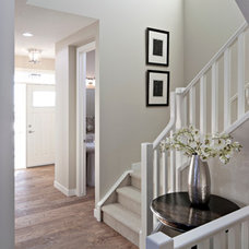 Traditional Staircase by Cardel Designs